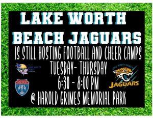 Lake Worth Beach Jaguars Football and Cheer Camp